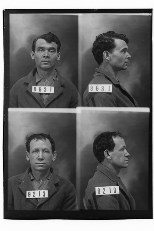 Wm. Murray and Frank Wayne, Prisoners 8631 and 9213, Kansas State Penitentiary - Page
