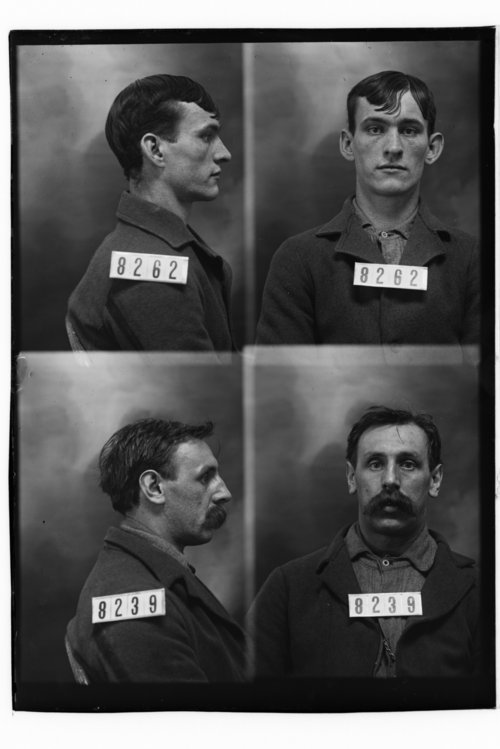 Henry Parks and Henry Isaacs, Prisoners 8262 and 8239, Kansas State Penitentiary - Page