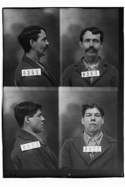 D. T. Chapman and Geo. Edwards, Prisoners 9353 and 8922, Kansas State Penitentiary - Page