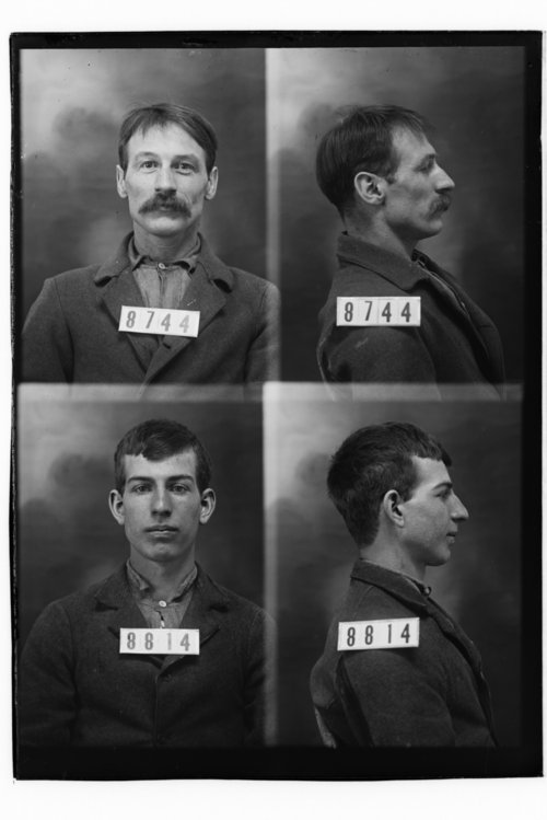 John Hanley and James O. Judd Jr., Prisoners 8744 and 8814, Kansas State Penitentiary - Page
