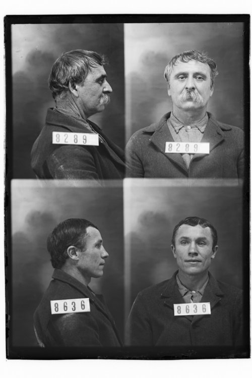 George W. Woolsy and John Blickhohn, Prisoners 8289 and 8636, Kansas State Penitentiary - Page