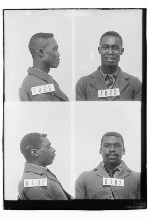 Fred Wilson and William Jones, Prisoners 7923 and 8102, Kansas State Penitentiary - Page