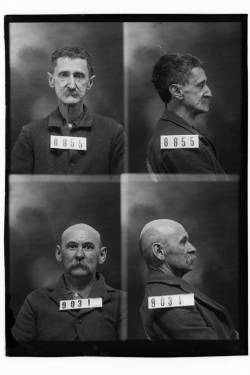 Henry C. Ellis and J. W. May, Prisoners 8855 and 9031, Kansas State Penitentiary - Page