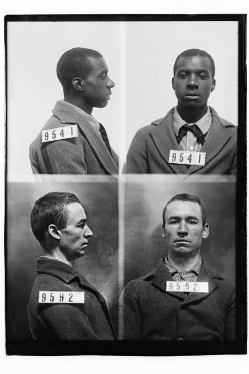 Major Cobb and A. T. Olson, Prisoners 9541 and 9592, Kansas State Penitentiary - Page