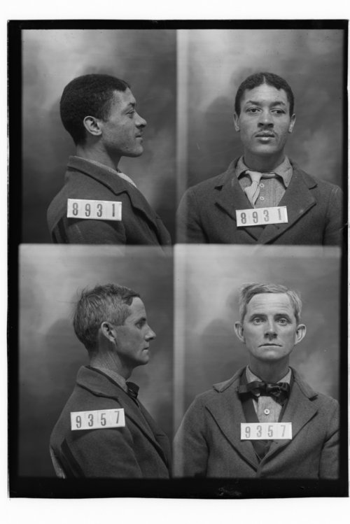 Plink Hogan and C. A. McLane, Prisoners 8931 and 9357, Kansas State Penitentiary - Page