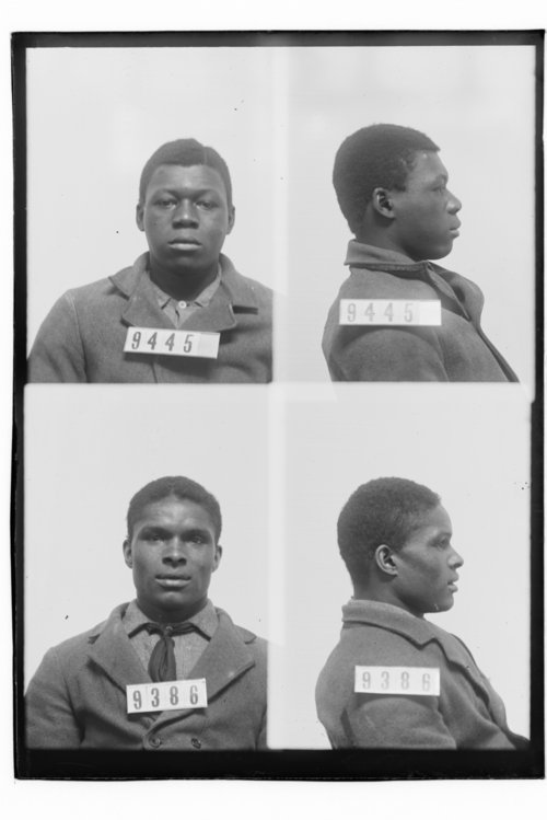 Sam White and Chick Hawkins, Prisoners 9445 and 9386, Kansas State Penitentiary - Page