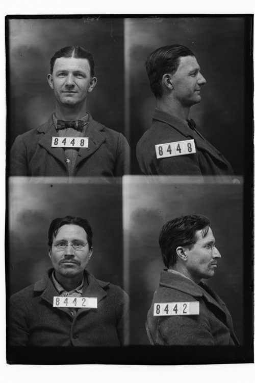 Eugene H. Mikesell and Ed Stull, Prisoners 8448 and 8442, Kansas State Penitentiary - Page
