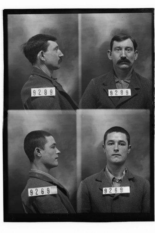 Sid Eller and Thomas Jacott, Prisoners 9289 and 9269, Kansas State Penitentiary - Page