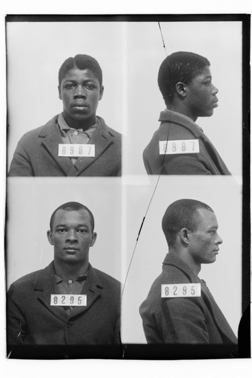 James Robinson and Joe Pennington, Prisoners 8987 and 8295, Kansas State Penitentiary - Page