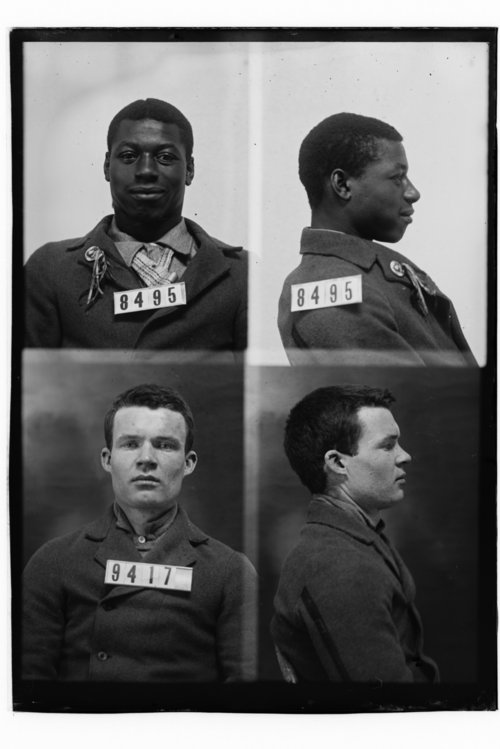 Samuel Daniels and William Hamilton, Prisoners 8495 and 9417, Kansas State Penitentiary - Page