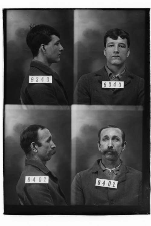 Isaac G. Thompson and James Anderson, Prisoners 9343 and 8402, Kansas State Penitentiary - Page