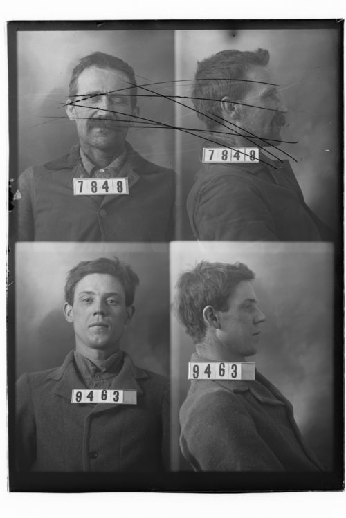 George Sanders, Prisoner 9463, Kansas State Penitentiary - Page