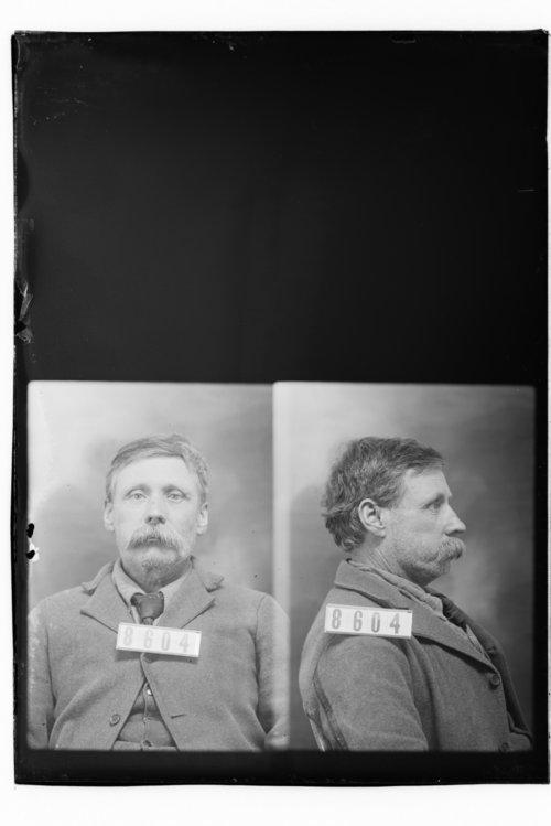 Martin Monroe, Prisoner 8604, Kansas State Penitentiary - Page