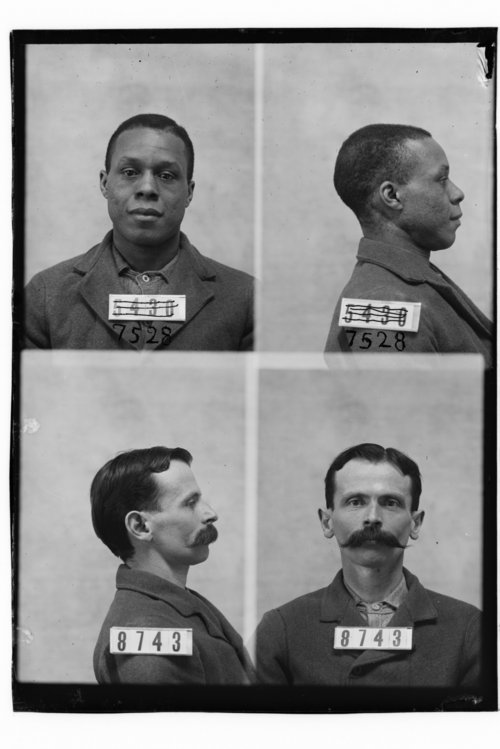 Wm. Link and Frank West, Prisoners 7528 and 8743, Kansas State Penitentiary - Page