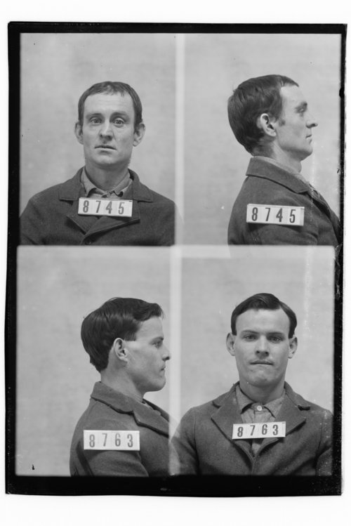 James Hill and Ellis Kellar, Prisoners 8745 and 8763, Kansas State Penitentiary - Page