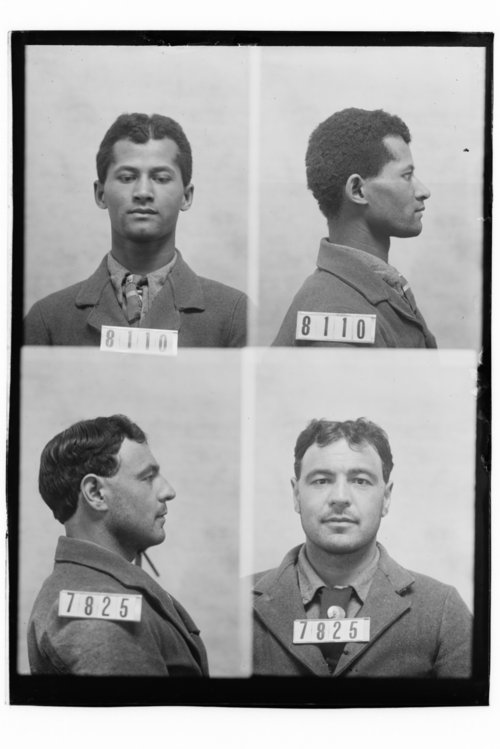 H. B. Davis and Frank Ray, Prisoners 8110 and 7825, Kansas State Penitentiary - Page
