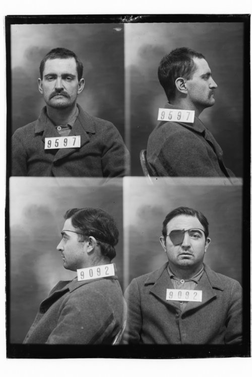 Harry Chamberlain and T. J. Calvin, Prisoners 9597 and 9092, Kansas State Penitentiary - Page