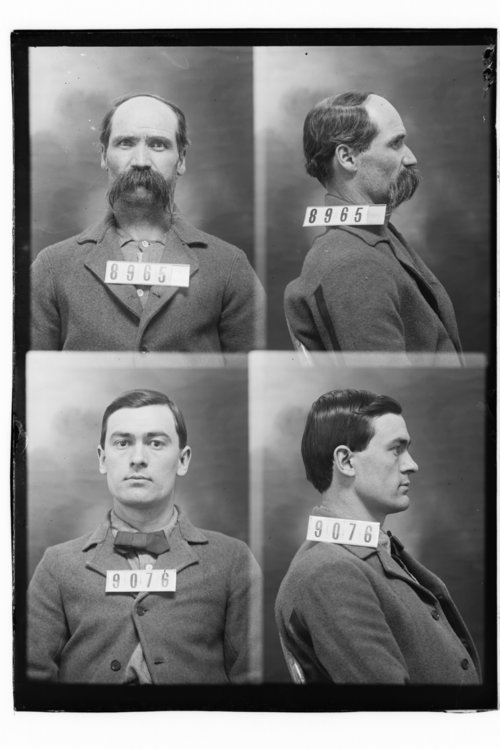 J. H. Denman and D. W. Edwards, Prisoners 8965 and 9076, Kansas State Penitentiary - Page