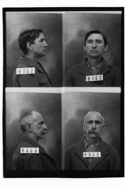 James W. Jaynes and Brant Peters , Prisoners 9152 and 9068, Kansas State Penitentiary - Page