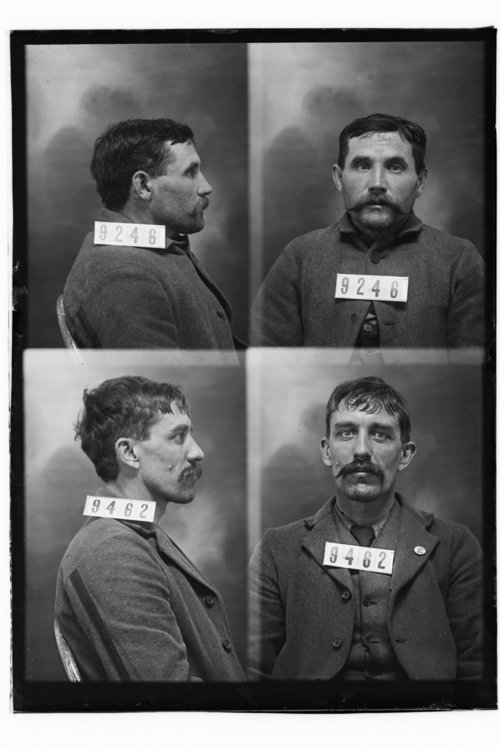 John Rogers and William Stegner, Prisoners 9246 and 9462, Kansas State Penitentiary - Page
