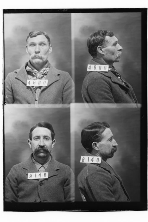 Milton M. Reynolds and L. H. Wesson, Prisoners 4680 and 9140, Kansas State Penitentiary - Page