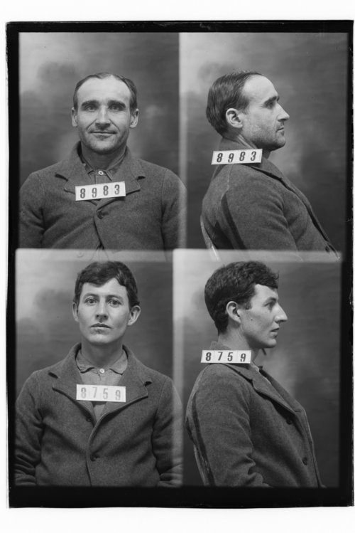 Tony Benrowirs and Elbert Heflin, prisoners 8983 and 8759 - Page