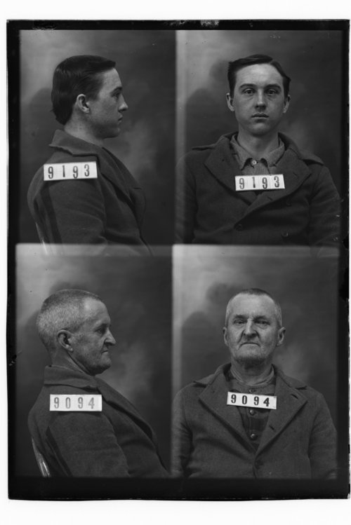 Howard Allen and Howard C. Tupper, Prisoners 9193 and 9094, Kansas State Penitentiary - Page