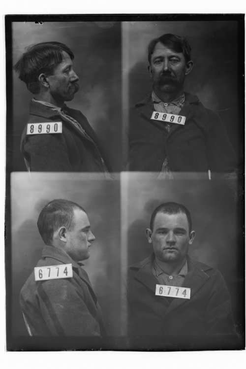 A. L. Lemley and Morgan Wright, Prisoners 8990 and 6774, Kansas State Penitentiary - Page
