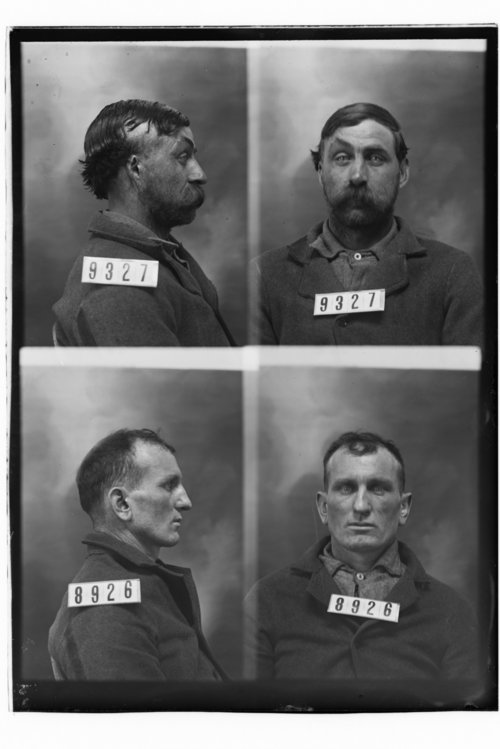 Wm. Woodward and Thomas O'Brien, Prisoners 9327 and 8926, Kansas State Penitentiary - Page