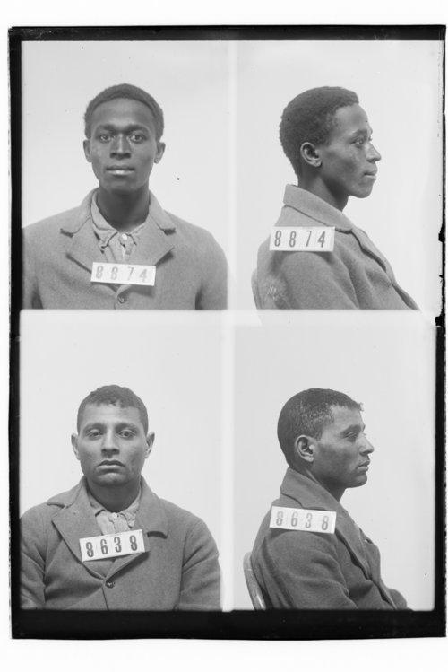 Thomas Davies and Thomas Hunter, Prisoners 8874 and 8638, Kansas State Penitentiary - Page