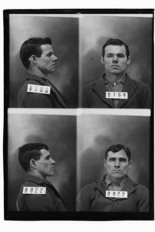 Alonzo Berling and William N. Long, Prisoners 8700 and 9022, Kansas State Penitentiary - Page