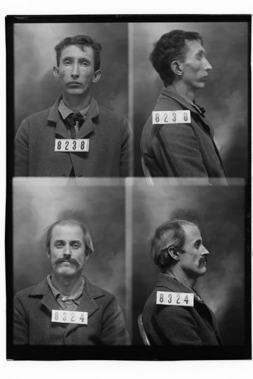 James Crane and Robert Morgan, Prisoners 8238 and 8324, Kansas State Penitentiary - Page