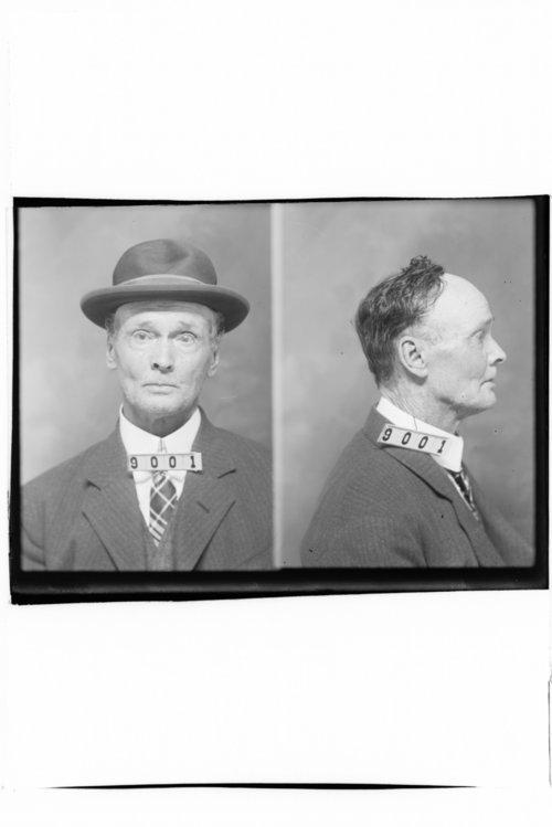 Samuel D. Hensley, Prisoner 9001, Kansas State Penitentiary - Page
