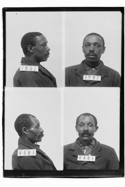 Joe Jones and Green Nichols, Prisoners 7082 and 6081, Kansas State Penitentiary - Page