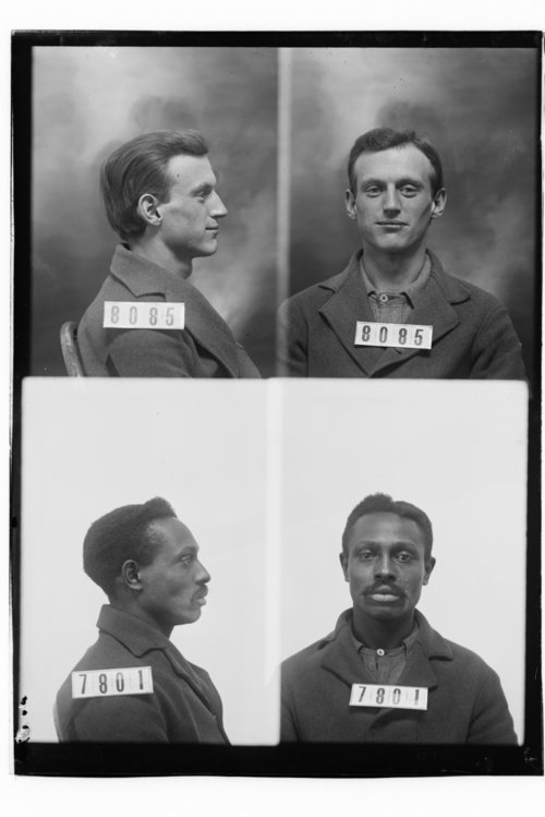 Ben P. Hayes and William Hayden, Prisoners 8085 and 7801, Kansas State Penitentiary - Page