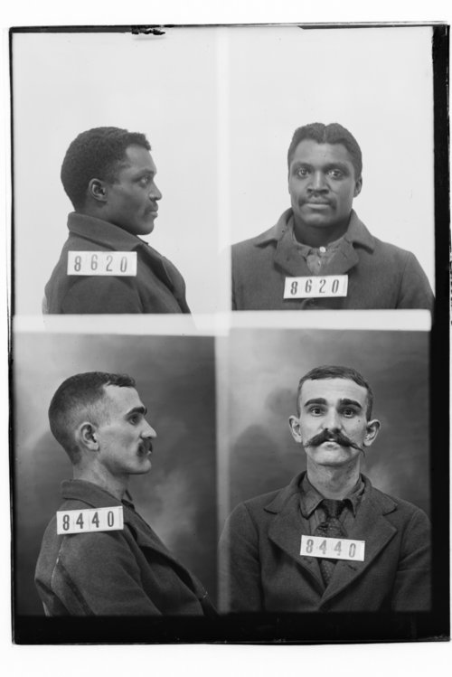 Fred Hall and Geo. W. Finch, Prisoners 8620 and 8440, Kansas State Penitentiary - Page