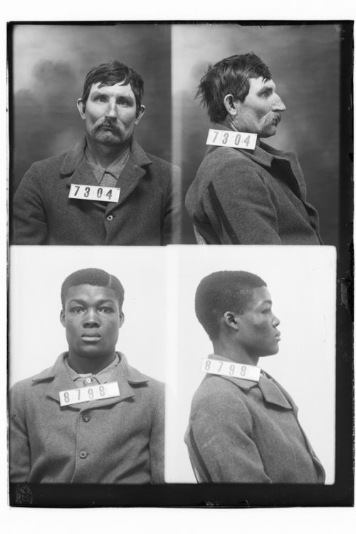 John F. Osborn and Odin Limington, Prisoners 7304 and 8798, Kansas State Penitentiary - Page