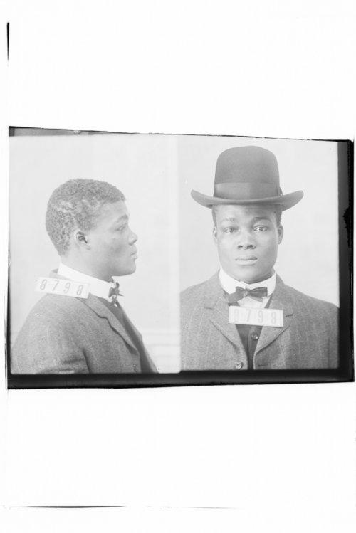 Odin Limington, Prisoner 8798, Kansas State Penitentiary - Page