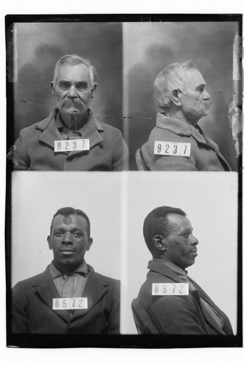 J. W. Carey and Alexander Brown, Prisoners 9237 and 8572, Kansas State Penitentiary - Page
