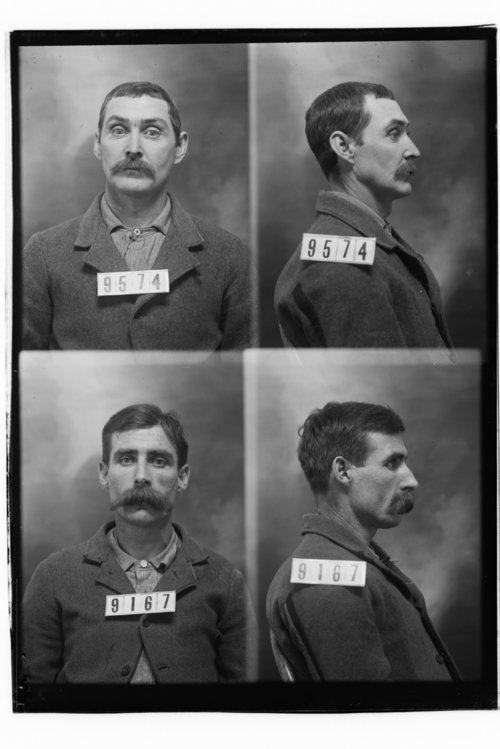 James M. Spain and John Dunn, Prisoners 9574 and 9167, Kansas State Penitentiary - Page