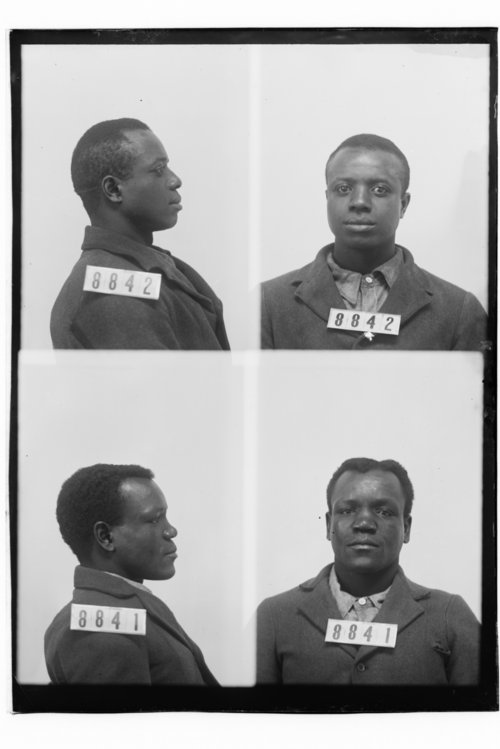 Frank G. White and George Cunningham, prisoners 8842 and 8841 - Page