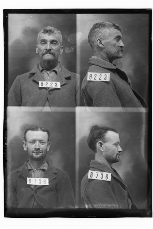Amos Phillips and George Lyons, Prisoners 9223 and 8736, Kansas State Penitentiary - Page