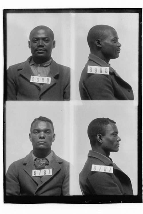 Henry Harris and Robert Banks, Prisoners 8980 and 8787, Kansas State Penitentiary - Page