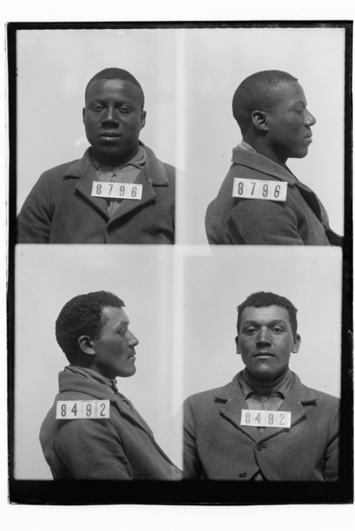Edward D. Patterson and Wm Harris, Prisoners 8796 and 8492, Kansas State Penitentiary - Page