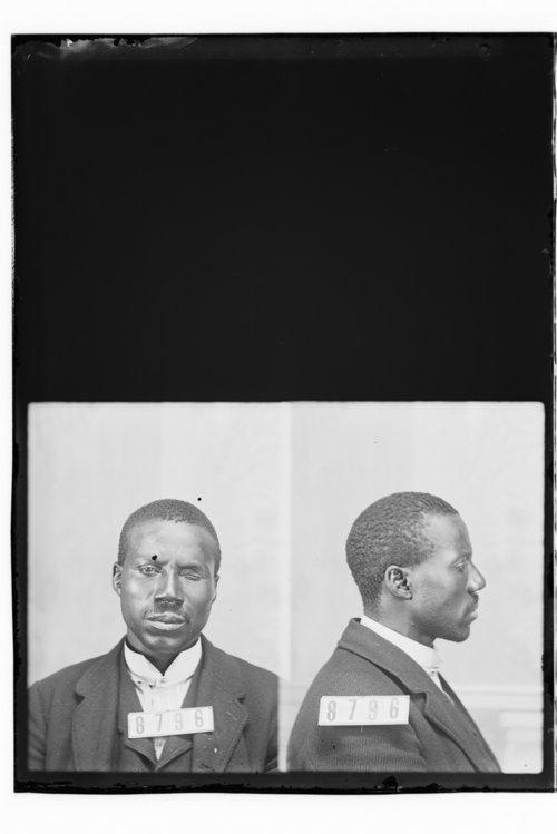 Edward D. Patterson, Prisoner 8796, Kansas State Penitentiary - Page
