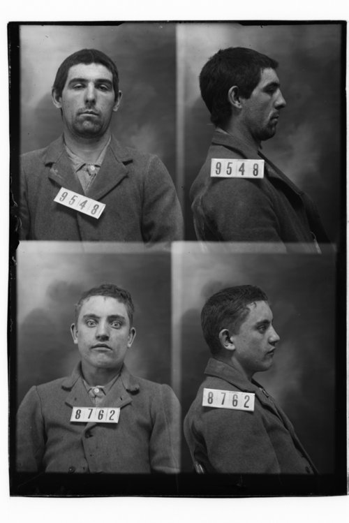 D. W. Stahl and John Armstrong, Prisoners 9548 and 8762, Kansas State Penitentiary - Page