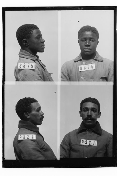 John Davis and George Walker, Prisoners 8875 and 9321, Kansas State Penitentiary - Page