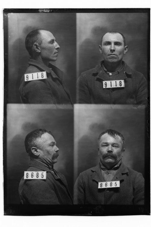 Willis Jones and Joseph Miller, Prisoners 9118 and 8685, Kansas State Penitentiary - Page