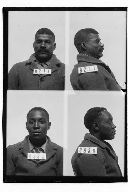 George Carter and Claude Brown, prisoners 9211 and 8938 - Page