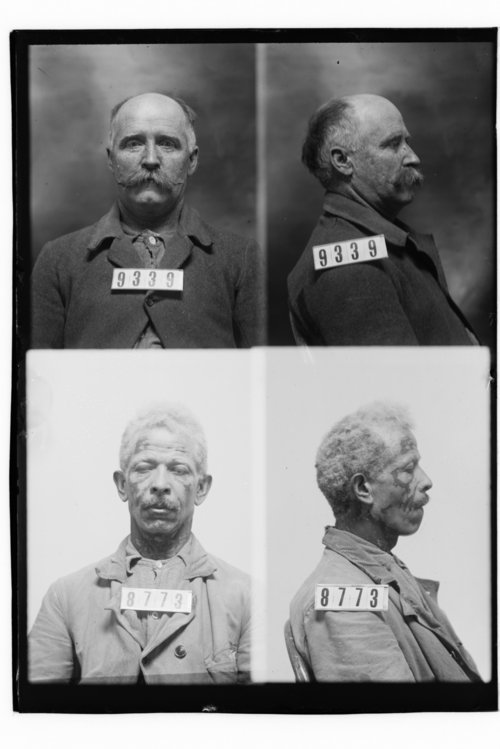 Ben McClellan and William Reagor, Prisoners 9339 and 8773, Kansas State Penitentiary - Page